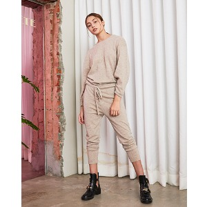 Knit Jumpsuit (Beige) 2차 재입고